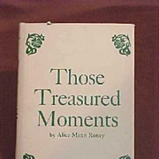 Poem1st Edition Book of Poems Southwest Those Treasured Moments  Author Alice Mann Roney Signe