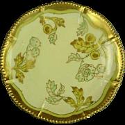 Bawo & Dotter Elite Works Limoges Plate, Artist Signed