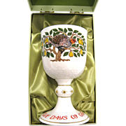 Royal Doulton 1980 First Day of Christmas Goblet