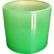 Steuben Glass Jade Toothpick Holder or Salt Dip