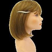 SALE Vintage Pave Rhinestone Hair Clip