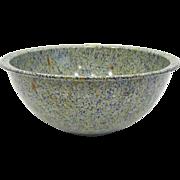 Vintage Confetti Melamine Mixing Bowl