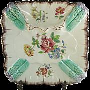 SALE Longchamp French Majolica Asparagus Plate