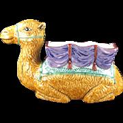 Vintage Vietri Camel Planter