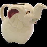 Vintage Shawnee Elephant Cream