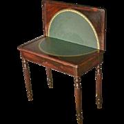 Rosewood Game Table, Sheraton, Victorian
