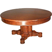Empire, Classical Center, Dining Table