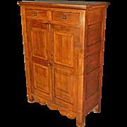 Early Walnut Cupboard, Jelly Cupboard