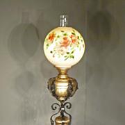 Bradley & Hubbard Brass & Iron Banquet Lamp