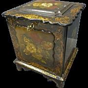 Paper Mache' Jewelry/Writing Box