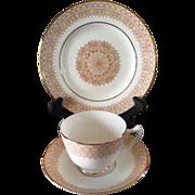 Crown Staffordshire Tea trio