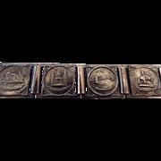 REDUCED Mid-Century Travel Bracelet From Budapest, Hungary!