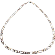 REDUCED Solid Sterling Silver Chain Necklace, Made In Italy!