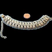 REDUCED Coro Pegasus Signed Bracelet, Elegant Vintage!