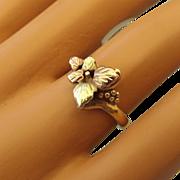 REDUCED Landstroms Signed Black Hills Gold 10k Yellow & Rose Gold Ring!