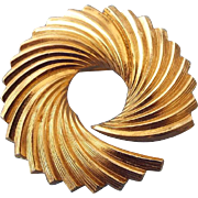 SALE 1959 Grosse' Swirl Brooch, A Division Of Dior Jewelry Made In Germany!
