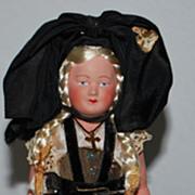 "7"" All Original French Doll"