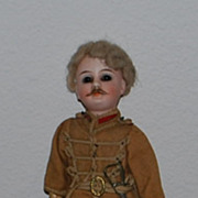 Fine Bisque German /French Soldier Doll