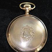 Fancy Railroad HC Pocket Watch 1885-1910