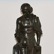 Bronze of Hamlet by Sandor Jaray, c. 1900