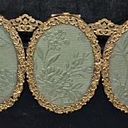 Marshall Field Gild Triptych Photo Frame, c. 1910