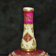 Miniature Royal Vienna Porcelain Vase - 1890's