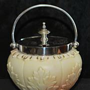 English Locke & Co. Porcelain Jam Jar, c.1900