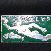 French Modernist Style Calypso Pin - 1950's