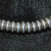 "SALE Lagos ""Caviar"" Heavy Sterling Silver Necklace"