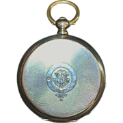 Swiss Silver HC  Pocket Watch for Russian Market