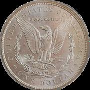 United States Morgan Dollar, Carson City,1883, MS-63 - Slabbed