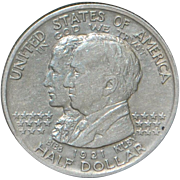 "United States Half Dollar ""Alabama"" Silver Coin, 1921"