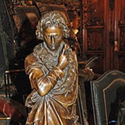 19th Century Bronze Statue of Beethoven