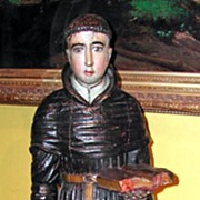 "Incredible 17th Century Carved ""San Antonio"""