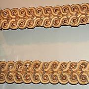 Pair of Italian Gilded Wall Brackets
