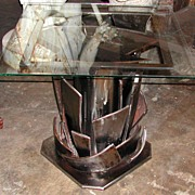 SOLD Original Modern Art Table