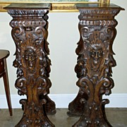 Pair of Italian Plant-stands