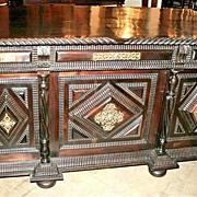 Portuguese Rosewood Desk