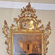 Pair of Italian Gilt Mirrors