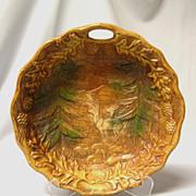 Multi Prod. Inc. Decorative Raised Image Woodland Elk Scene Bowl