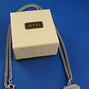Avon 1983 Zodiac Virgo Necklace with Box