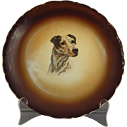 Taylor, Smith, Taylor Dog Head Salad Plate - circa 1908