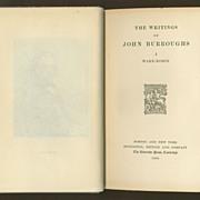 Wake-Robin (The Writings of John Burroughs, Vol. I) - 1905