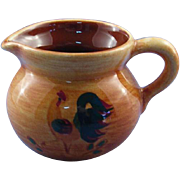 Pennsbury Pottery Miniature Rooster Creamer