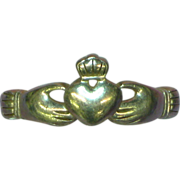 Sterling Silver Claddagh Ring Size 8