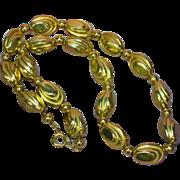 SALE 50% OFF SALE Gold Tone Beautiful Bead Necklace