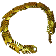 Napier Gold Plate Wonderful Link Bracelet