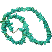 SALE Native American Indian  Turquoise Necklace