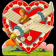 Vintage War Time Valentine marked Germany