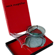 SOLD Vintage Neck Magnifier, New In Box